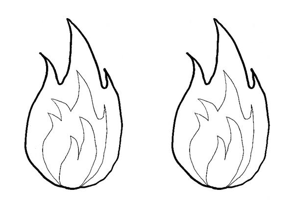 39 Flammen Vorlagen Zum Ausdrucken Besten 13